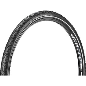"Continental Contact Plus Travel Wired-on Tire 28"" E-25 Reflex black"